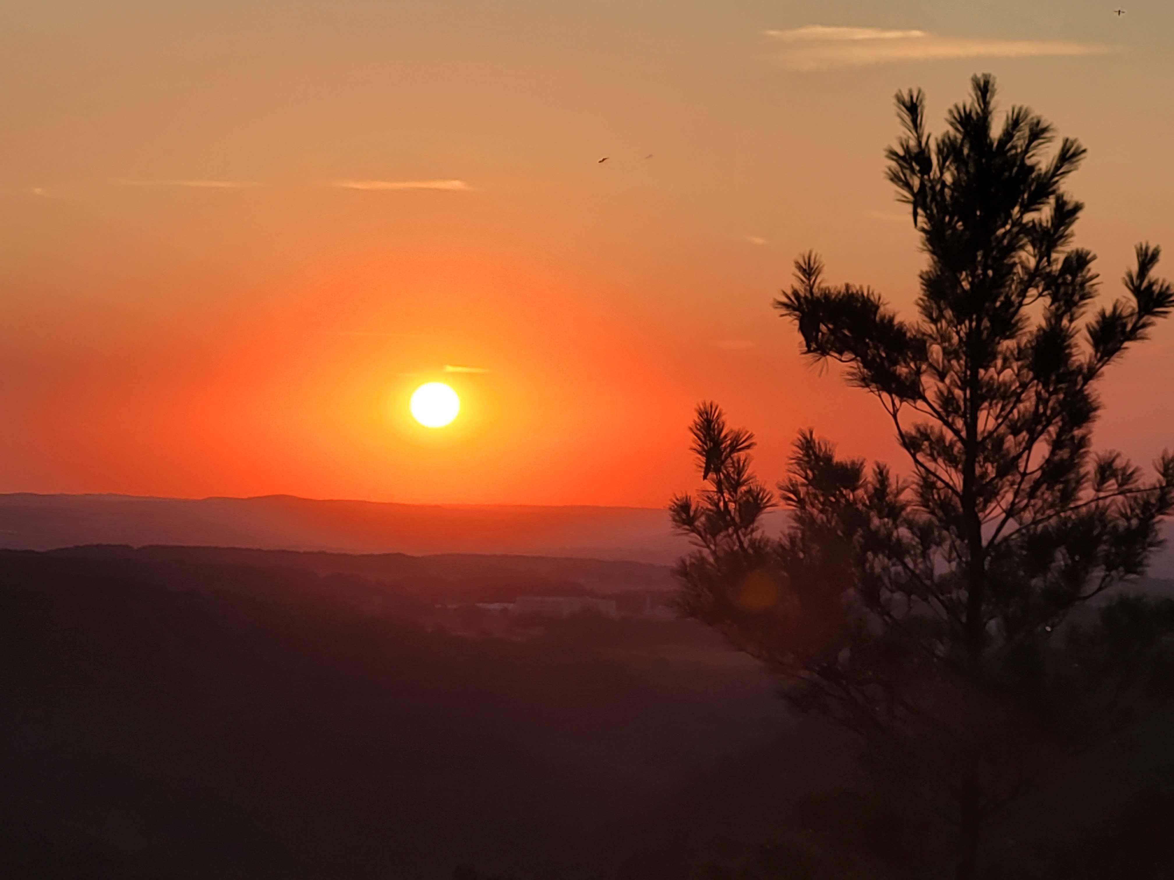 Sonnenuntergang Pfaffenstein