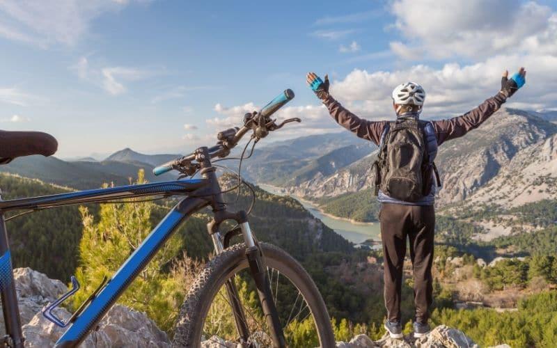 Mountainbiken mit 95 Jahren