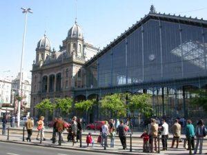 Der Budapester Westbahnhof ist einer der Bekanntesten