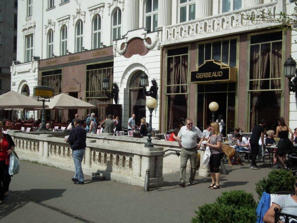 Budapest Cafe-Kultur Cafè Gerbeaud