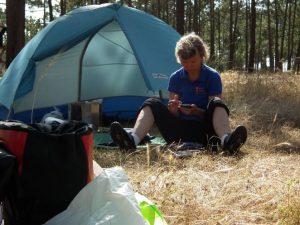 Der alte Narr - Camping im Zelt