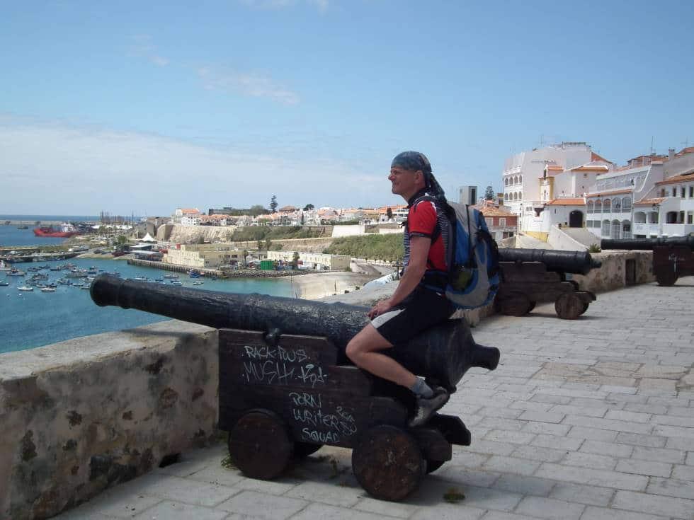 Portugals Westküste mit Fahrrad - Der alte Narr