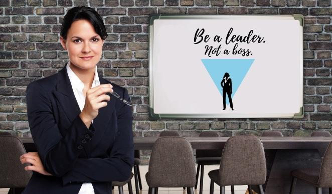 Frauen im Networkmarketing - Leader und nicht Boss