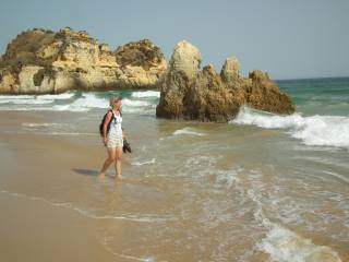 Portugal - Magic-Beach bei Alvor