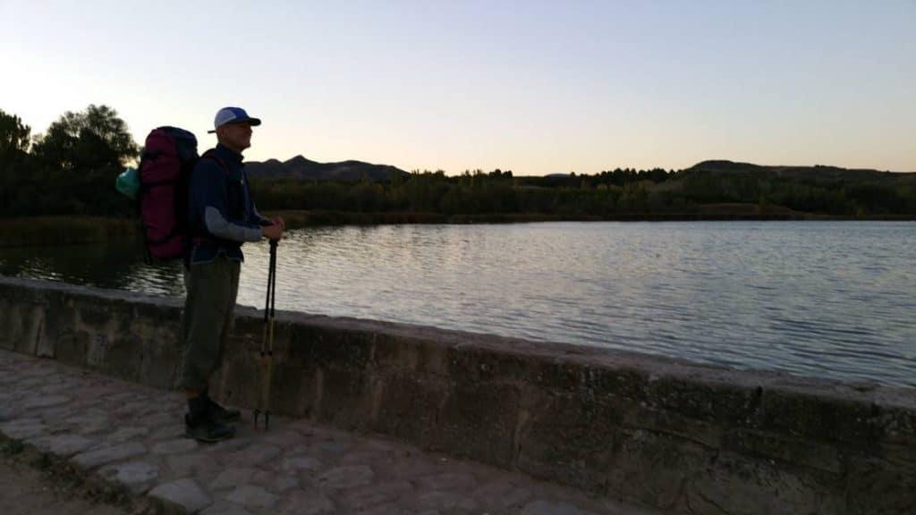 Jakobsweg - See nach Logrono