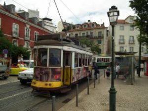 Portugal - Straßenbahnen Lissabon