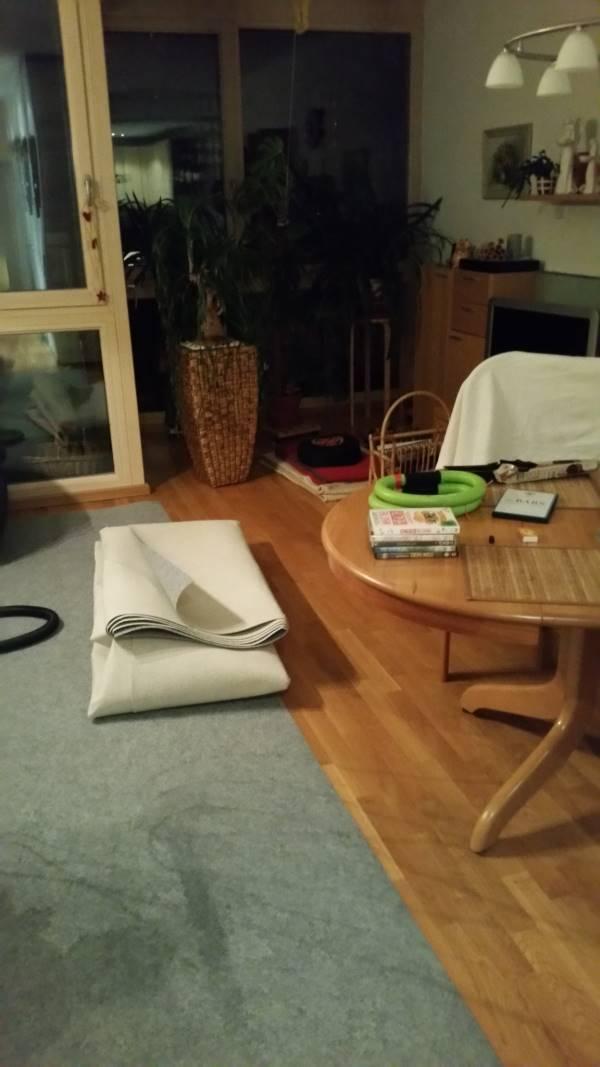 Wohnung verpackt