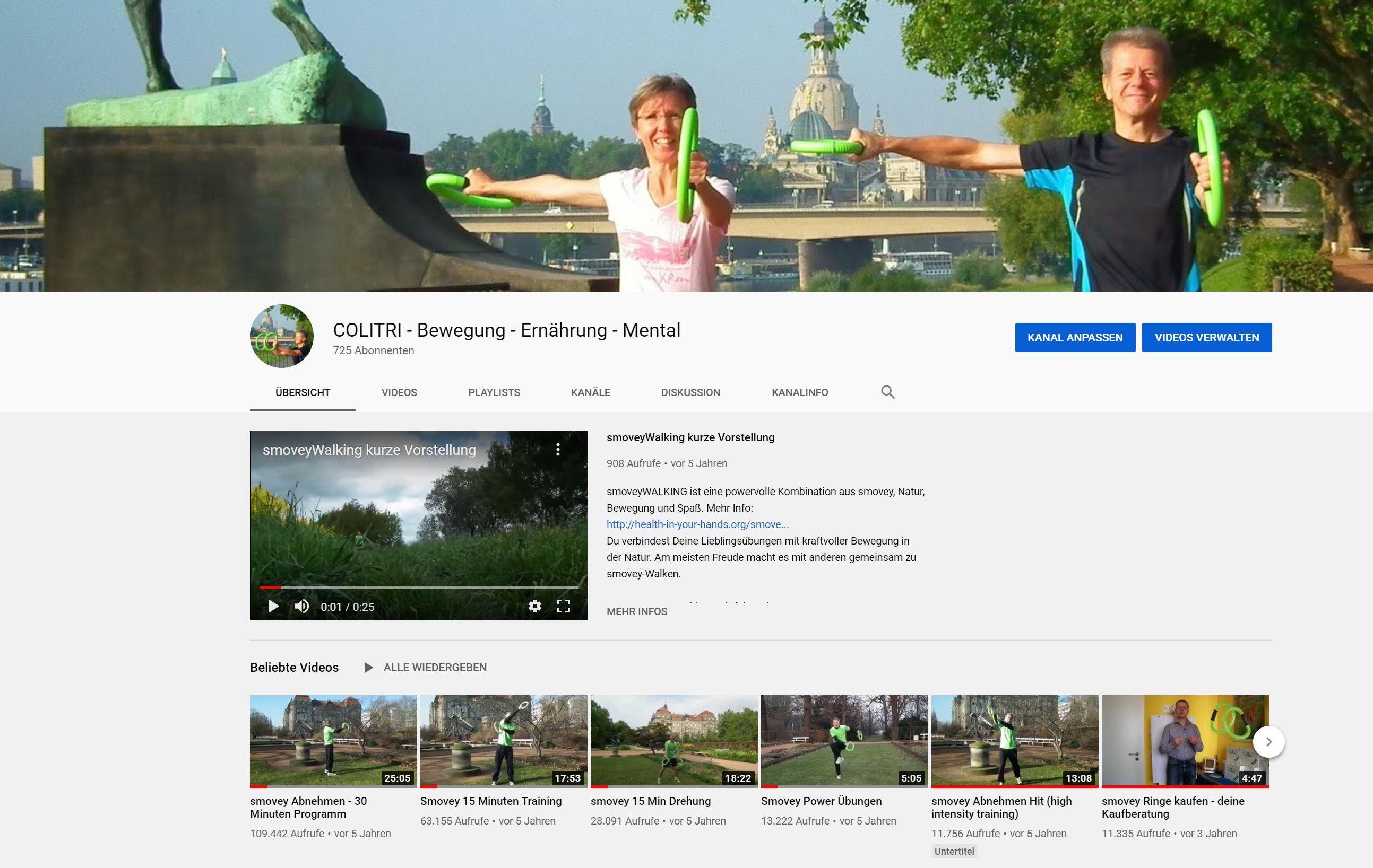 Youtube-Kanal smovey Dresden